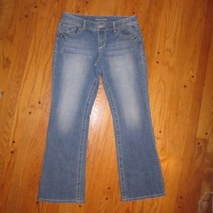 MAURICES 11/12 R ORIGINAL BOOT CUT JEANS WOMENS